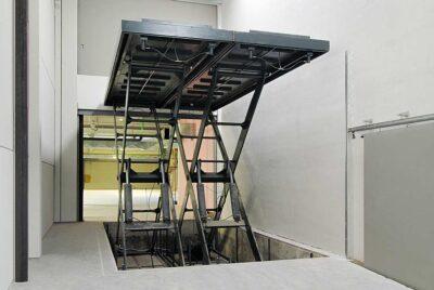 Mesa elevadora industrial