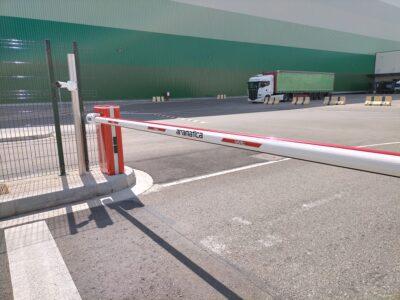 Barreras automáticas de control de acceso